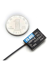 baratos -FLYSKY FS-A8S FS A8S 2.4G 8CH Mini Receiver 1pç Receptor Metal