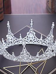 cheap -Alloy Tiaras with Rhinestone Imitation Pearl 1pc Wedding Birthday Headpiece