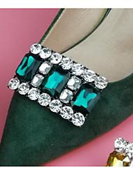 abordables -Brillantes Accesorios Decorativos Mujer Todas las Temporadas Casual Negro Rojo Verde