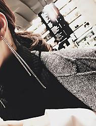 cheap -Women's Drop Earrings - Casual / Fashion Silver Line Earrings For Daily / Date