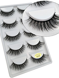 cheap -lash False Eyelashes Professional Level / Portable Makeup 1 pcs Eye Professional / High Quality Daily Daily Makeup / Halloween Makeup / Party Makeup Portable Natural Curly Cosmetic Grooming Supplies