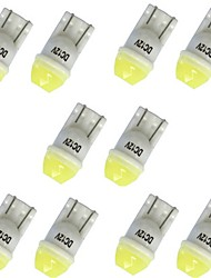 cheap -10pcs T10 Car Light Bulbs 1W SMD LED 100lm 1 LED Turn Signal Light For General Motors General Motors All years
