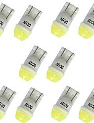abordables -10pcs T10 Automatique Ampoules électriques 1W LED SMD 100lm 1 LED Clignotants For General Motors General Motors Toutes les Années