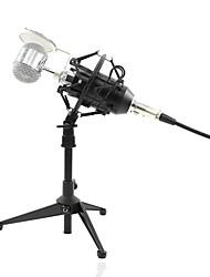 Недорогие -KEBTYVOR BM-8000 Кабель Микрофон Микрофон Конденсаторный микрофон Ручной микрофон / Профессиональный Назначение Компьютерный микрофон