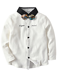 cheap -Kids / Toddler Boys' Color Block / Patchwork Long Sleeve Shirt
