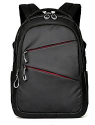 preiswerte -Herrn Taschen Oxford Tuch Rucksack Reißverschluss Schwarz / Königsblau