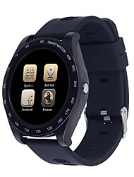 cheap -Smartwatch STSZ1 for Android 4.3 and above / iOS 7 and above Long Standby / Touch Screen / Water Resistant / Water Proof / Camera / Pedometers Timer / Pedometer / Call Reminder / Sedentary Reminder