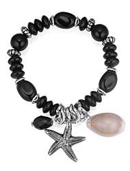 cheap -Women's Drop Charm Bracelet / Strand Bracelet - Fashion / Ethnic / European Starfish / Shell Gray / Red / Blue Bracelet For Daily