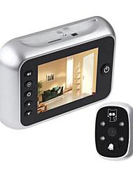 billiga -Video Door Phone Systems Trådlös Fotograferade / Inspelning 3.5 tum Hands-free En till En Video Porttelefonen