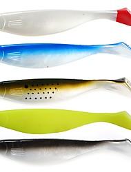 Недорогие -1 pcs Мягкие приманки Мягкие приманки Мягкие пластиковые Морское рыболовство / Ловля на приманку / Спиннинг / Ловля на крючок / Пресноводная рыбалка / Ловля карпа / Ловля мелкой рыбы