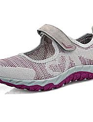 economico -Per donna Scarpe Tulle Primavera estate Comoda scarpe da ginnastica Ginnastica Piatto Grigio / Viola / Fucsia
