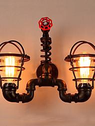 Недорогие -Оригинальная обувь Настенные светильники На открытом воздухе / кафе Металл настенный светильник IP44 220-240Вольт 40 W / E27