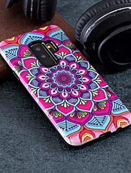 Недорогие -Кейс для Назначение SSamsung Galaxy S9 Plus / S9 С узором Кейс на заднюю панель Мандала Твердый ПК для S9 / S9 Plus / S8 Plus