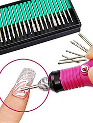 cheap -30pcs Professional / Scrub Sets Nail Art Tool / Nail Art Drill Kit / Nail Art Grinding Head Nail Art Kit Fashionable Design Daily Wear /
