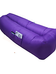 cheap -Inflatable Sofa Sleep lounger / Air Sofa / Air Bed Outdoor Portable / Fast Inflatable / Waterproof Polyester Taffeta 260*70 cm Fishing / Beach / Camping All Seasons