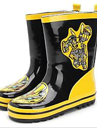 Недорогие -Мальчики Обувь Резина Весна лето Резиновые сапоги Ботинки для Желтый