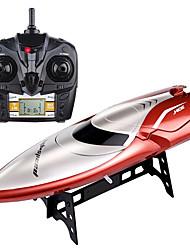 Недорогие -Лодка на радиоуправлении H106 Пластик 4 pcs каналы 28 km/h КМ / Ч