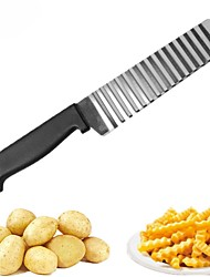 cheap -Kitchen Tools Stainless steel Creative Kitchen Gadget Cutting Tools / Fruit & Vegetable Tools Potato / Carrot / Cucumber 1pc
