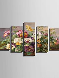 baratos -Estampado Estampados de Lonas Esticada - Vida Imóvel Floral / Botânico Modern