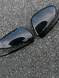 cheap -2pcs Car Side Mirror Covers Business Paste Type For Rearview Mirror For Mercedes-Benz C Class All years