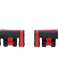 abordables -Sans Fil Contrôleurs de jeu Pour Android / iOS Portable Contrôleurs de jeu ABS 2pcs unité