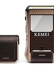 baratos -Kemei Máquinas de barbear eléctricas for Homens 100-240V Multifunções / Design Portátil / Leve e conveniente