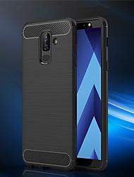 billiga -fodral Till Samsung Galaxy A6+ (2018) / A6 (2018) Frostat Skal Enfärgad Mjukt TPU för A6 (2018) / A6+ (2018) / A3 (2017)