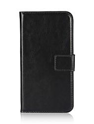 Недорогие -Кейс для Назначение Apple iPhone X / iPhone 8 Кошелек / Бумажник для карт / Флип Чехол Однотонный Твердый Кожа PU для iPhone X / iPhone 8 Pluss / iPhone 8