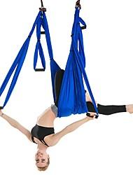 billiga -Hängband för yogaträning Med Band för yoga i luften / Yoga-hängmatta / Skumdyna Nylon fiber / Nylon Ultrastark antigravitation Avkomprimerande inversionsterapi För Luftyoga / Inversionsövningar