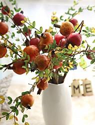 cheap -Artificial Flowers 1 Branch Rustic / Modern Eternal Flower / Fruit Tabletop Flower