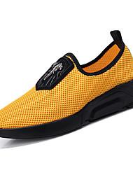 baratos -Homens sapatos Borracha Verão Conforto Tênis Água Laranja / Cinzento / Amarelo
