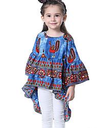 cheap -Kids Toddler Girls' Print 3/4 Length Sleeves Tee