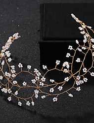 cheap -Imitation Pearl / Others Head Chain with Imitation Pearl 1 Piece Wedding / Special Occasion Headpiece
