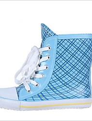 Недорогие -Мальчики Обувь Дерматин Весна & осень Резиновые сапоги Ботинки для Синий