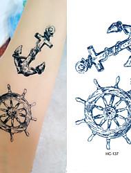 economico -10 pcs Tatuaggi adesivi Tatuaggi temporanei Serie totem arti del corpo braccio