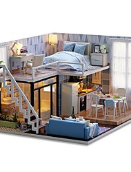 cheap -Dollhouse Exquisite Mini House Romantic 1pcs Pieces All Gift