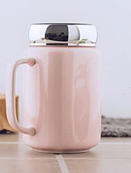 Недорогие -Drinkware Фарфор Кружка Термочувствительных изменения цвета 1pcs