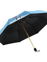 abordables -boy® Autres Tous Design nouveau / Ensoleillé et Pluvieux+D4935 / A l'Epreuve du Vent Ombrelle pliable