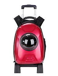 preiswerte -Hunde / Hasen / Katzen Transportbehälter &Rucksäcke Haustiere Träger Tragbar / Wasserdicht / Mini Kreativ / Modisch / Britisch Rot / Blau