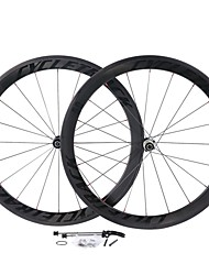 cheap -Cheerson 700CC Wheelsets Cycling 23mm Road Bike Carbon Fiber / Stainless / Full Carbon Spokes 50mm