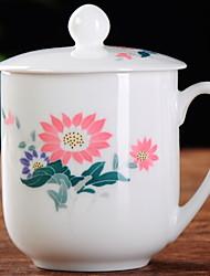 abordables -Drinkware Porcelaine Tasses de Thé Tasse Athermiques 1pcs
