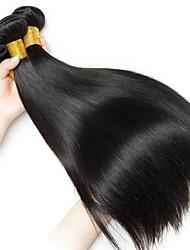 cheap -Peruvian Hair Straight Human Hair Weaves 50g x 3 Hot Sale / Extention Natural Color Hair Weaves / Human Hair Extensions All Christmas