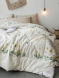 baratos -Confortável - 1pç de Manta Inverno Fibra Orgânica Floral