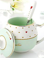 Недорогие -Drinkware Фарфор Кофейные чашки Теплоизолированные 1pcs