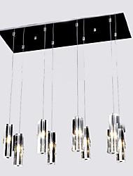abordables -8 lumières Grappe Lampe suspendue Lumière d'ambiance 110-120V / 220-240V, Blanc Crème, Ampoule incluse / G4 / 15-20㎡