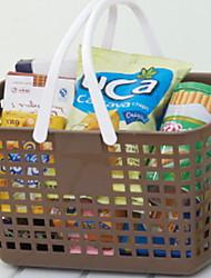Недорогие -Аксессуар для хранения Прост в применении / Аксессуар для хранения Современный / Мода Пластик 1шт Украшение ванной комнаты