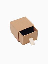 baratos -Forma Geométrica Caixas de Jóias - Simples, Básico Como a Imagem 3 cm 9 cm 7 cm