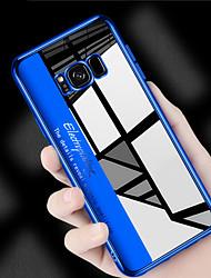 billiga -fodral Till Samsung Galaxy S9 Plus / S9 Plätering / Ultratunt / Genomskinlig Skal Enfärgad Mjukt TPU för S9 / S9 Plus / S8 Plus
