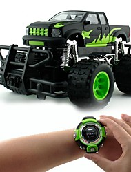 abordables -Coche de radiocontrol  Smartwatch Voice Remote Control Car 2.4G En carretera Off Road Car 1: 8 KM / H