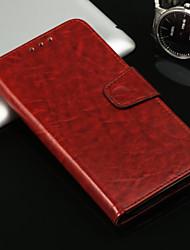 baratos -Capinha Para Apple iPhone X iPhone 8 Porta-Cartão Com Suporte Flip Capa Proteção Completa Sólido Rígida PU Leather para iPhone X iPhone 8